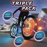 Meon 876724 Light Up Bikee FX Triple Pack