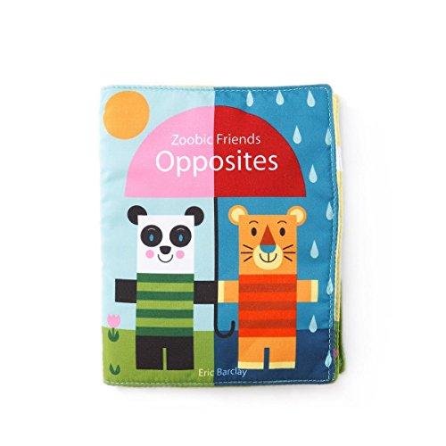 DEMDACO Soft Opposites Baby Book