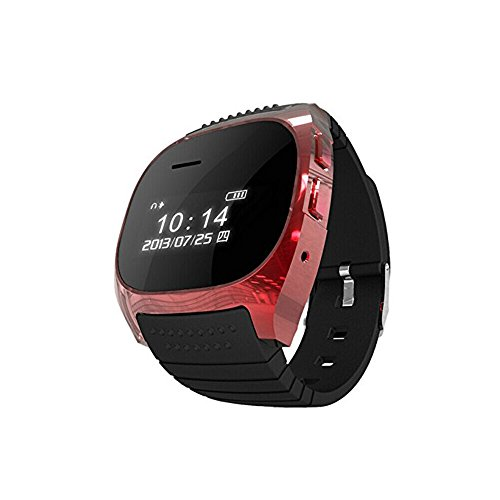 Carry360 M18 Smart Watch Bluetooth Phone Mate For Android Phone Iphone Color Red
