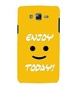 EPICCASE Enjoy today Mobile Back Case Cover For Samsung Galaxy J7 (Designer Case)