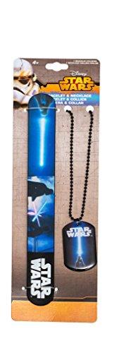 Star Wars Episode Vii Collana E Braccialetto The Dark Side