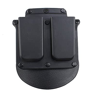 AGPtek Quick Release Tactical Right Hand Holster & Magazine Pouch for Colt 19111