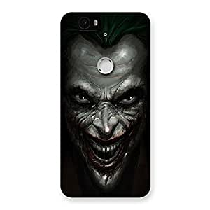 Luxirious Mad face Multicolor Back Case Cover for Google Nexus-6P