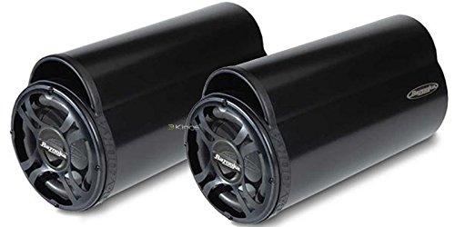 New Pair Bazooka Bt1024Dvc 500 Watt 10 Ported Subwoofer Tube Enclosure Car Audio