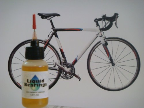 Liquid Bearings 100%-synthetic Oil for Bianchi Bicycles, Provides Superior Lubrication and Also Prevents Rust!!