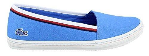 Lacoste Women's Orane 116 Blue Sneaker 9 M