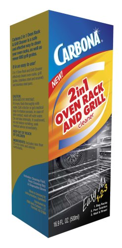 Carbona 2-In-1 Oven Rack And Grill Cleaner Bagged 16.9 Oz