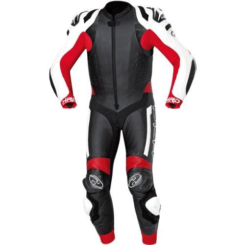 Held Race-Evo - Lederkombi (1tlg.), Farbe weiss-rot, Größe 58