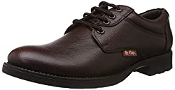 Lee Cooper Mens Brown Leather Shoes - 6 UK