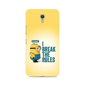 Mobicture Minion I Break the rules Premium Printed Case For Lenovo Zuk Z1