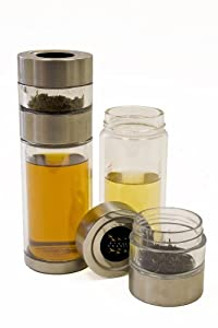 Eight Cranes PS-GG101 Perfect Steeper Portable Loose Leaf Tea Brewer and 8-Ounce Tea Cup All In One