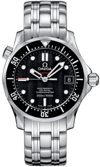 NEW OMEGA SEAMASTER MIDSIZE 300M WATCH 212.30.36.20.01.001