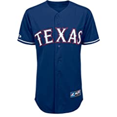 Yu Darvish Texas Rangers MLB Majestic Replica Royal Blue Jersey - Small by Unknown