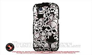 HTC Amaze 4G Protector Case Phone Cover - Black Skull
