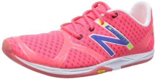 Balance - Womens Minimus Zero Minimal Running Shoes, UK: 6 UK - Width D, Diva Pink with Blue & White