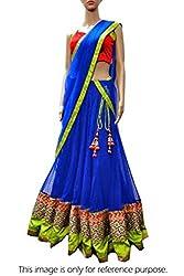 Pramukh Group Designer Wedding Style Blue Beautiful Lehenga Choli