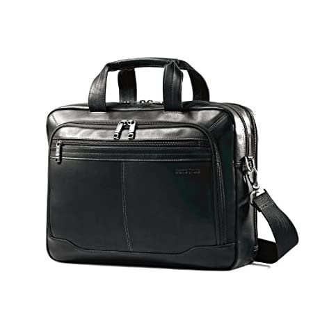 Samsonite Columbian Leather Zip Toploader