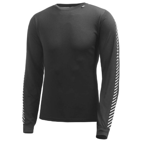 Helly Hansen Dry Stripe Long Sleeve Crew T Shirt Mens