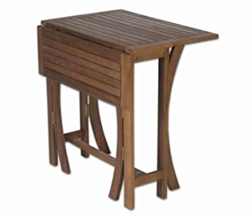 Profiline 422200 Gartentisch Balkontisch Klapptisch Holz Akazie