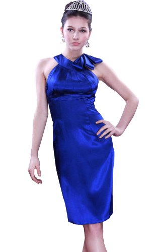 eDressit blau Cocktail Abendkleid Ballkleid 04090805£©, Gr. 46