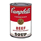 Campbell's Soup I: Beef, c.1968 Art Print Art Poster Print by Andy Warhol, 13x19