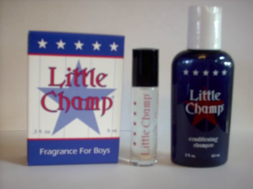 Little Champ Fragrance for Boys Gift Set with Conditioning Shampoo - Perfect for gift baskets!