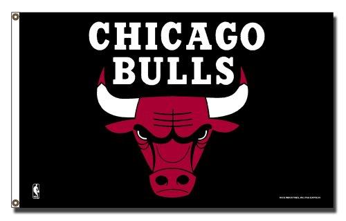 Chicago Bulls Nba 3ft X 5ft Banner Flag FGB72002