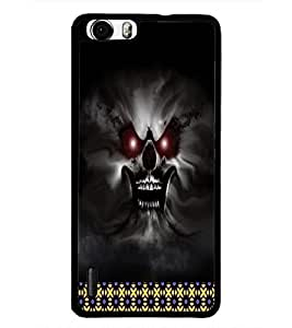 PrintDhaba Ghost D-4492 Back Case Cover for HUAWEI HONOR 6 (Multi-Coloured)