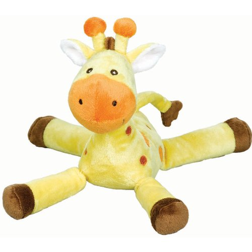 "Amscan Baby Shower Party Gift Ideas Adorable Fisher-Price Giraffe Plush, 10"", Yellow"