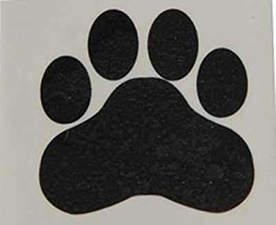 "Happy Deals - Black Paw Print Temporary Tattoos, 1.5""x1.5"""