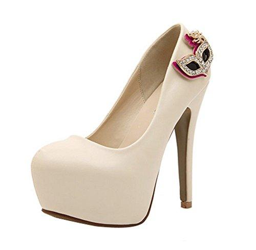 fq-real-princess-womens-singles-high-waterproof-nightclub-fine-high-heeled-shoes-size-55-uk-apricot