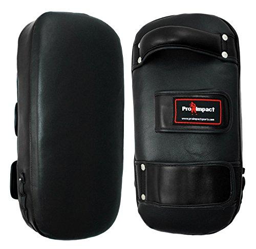 PRO IMPACT professional - Muay Thai Pad, Schlagpolster - Leder - 1 Paar