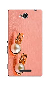 Link+ Designer Back Cover For SONY XPERIA C