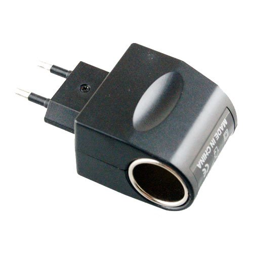 12V 500mA Cigarette Lighter to Power adapter Converter