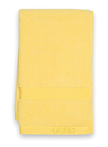 GUND Melange Hand Towel, Lemon, 16'' By 26''
