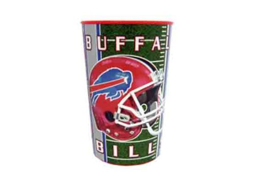 755013 - Buffalo Bills 22 oz Metallic Cup Open Stock Case Pack 48 bulk buys 84 inch round table cover lavender case of 144