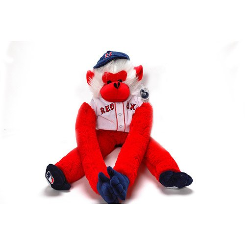 MLB Rally Monkey Stuffed Animals - Boston Red Sox