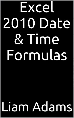 Excel 2010 Date & Time Formulas back-987345
