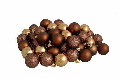 Christmas Ornaments: Introviews96ct Mocha Brown Shatterproof 4 ...