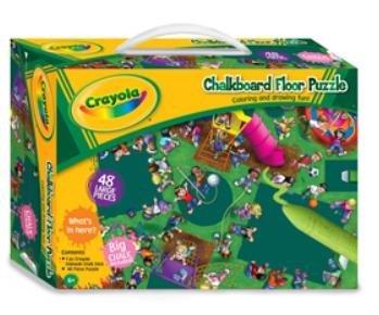 Crayola Chalkboard Giant Floor Puzzle 48pcs - Playground Fun