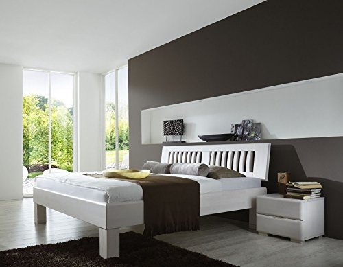 bett paris weiss. Black Bedroom Furniture Sets. Home Design Ideas