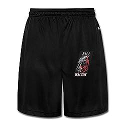 SHOWQEE Portland Trail Blazers&Bill Walton Cotton Man's Sweatpants