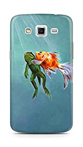 Amez designer printed 3d premium high quality back case cover for Samsung Galaxy Grand 2 G7102 (A saving breath)