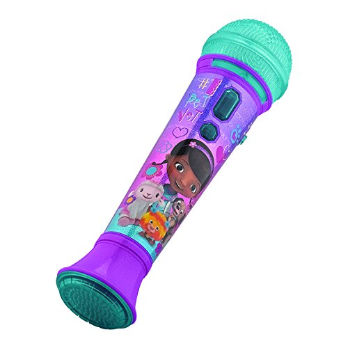 KIDdesigns Rockin' Doc Microphone, Purple/Pink - 1