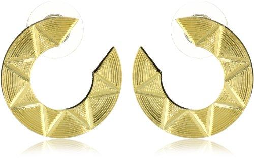 Yochi Aztec Geometric Earrings