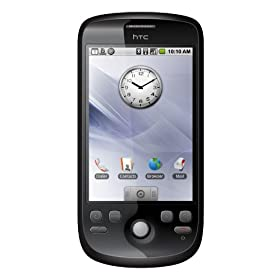 HTC Magic Android Google 2 Unlocked Smartphone - International Version with no U.S. Warranty (Black)