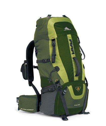 High Sierra Hawk 45 Frame Pack Amazon/Pine/Leaf front-721977