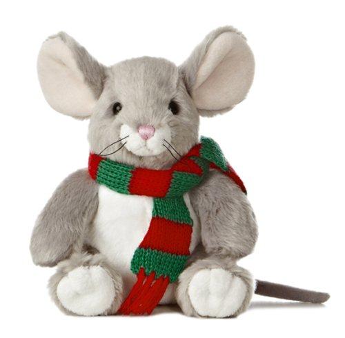 """Aurora World Merry Mouse Plush Toy, 7"""""""