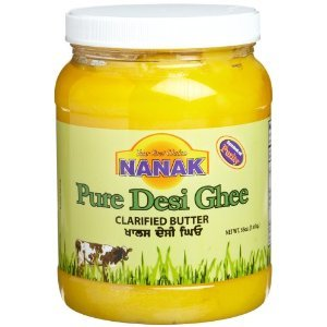 Nanak Pure Desi Ghee, Clarified Butter, 56-Ounce Jar (Pack of 2)