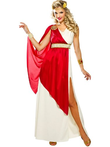 Adult Roman Lady Caesar Costume
